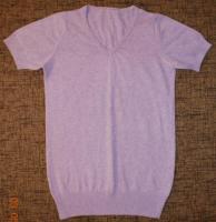 Продам б/у сиреневую х/б футболку ТМ «Terranova» на девочку
