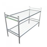 Одноярусные металлические кровати для вагончиков,  кровати дёшево.