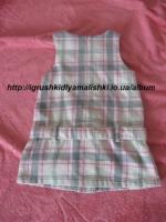 супер красивое теплое платье carters на 3 года (3т)