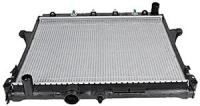 Хаммер H - 3 .  2006 - 2012г Радиатор охлаждения двигателя .