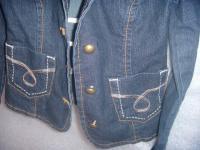 Куртка-жакет джинсовый для девочки