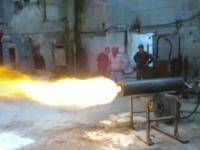 Горелка многовихревая высокотемпературная УкрЖАР-200