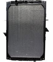 Даф XF Евро 2 .  2000 - Радиатор охлаждения .