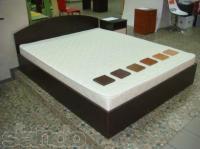 Кровать двухспальная 160*200 + ортопедический матрас Эко 41 160*200
