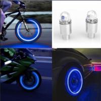 Авто-мото-вело аксессуары неоновый синий-красный строб светодидные