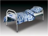 Кровати железные одноярусные для санаториев,  кровати для рабочих опто