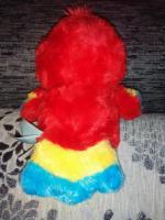 нереальной красоты игрушка попугайчик -глазастик yoohoo оригинал,