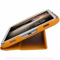 Ультратонкий кожаный чехол-книжка Jisoncase для Samsung Galaxy Tab 3