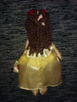очень красивая мягкая куколка -принцесса Белль