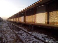 Продается склад 2000м. кв с ЖД тупиком, Донецк