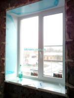 Металлопластиковое окно Rehau Ecosol 60 (4-12-4-8-4)  GU uni-jet