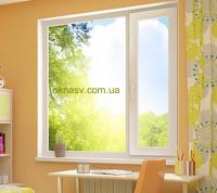 Металлопластиковое окно WDS 400,  4-16-4,  Axor