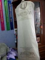 Свадебное платье цвета Айвори с кружевом от laura style