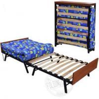 Кровать Раскладушка на Ламелях с Матрасом В Наличии Доставка  Сегодня