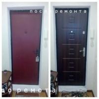 Ремонт и реставрация металлических дверей