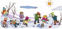 """Зимние каникулы в Карпатах в лагере """"Эдельвейс""""."""