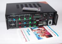 Усилитель звука Stereo Power Amplifier UKC AMP PA-329BT