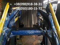 Быстросъемный универсальный погрузчик КУН на МТЗ,  ЮМЗ,  Т-40 +джойсти