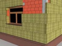 вата для утеплення дахів,  стін і перекиттів