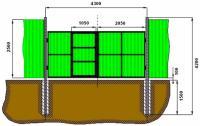 Установка ворот, калиток, Кривой Рог, 1 000 грн