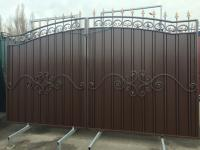 Въездные ворота, ворота с профлиста, Кривой Рог, 9 900 грн
