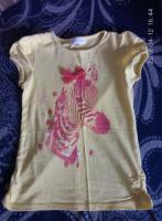 очень красивая футболка с зеброй charles vogele на рост 122., Харьков, 75 грн