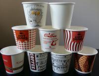 Бумажные стаканы 110,  182,  187 (вендинг) ,  255 и 340 мл