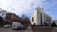 4-х этажное отдельностоящее здание в Киеве.