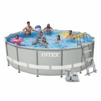 Каркасный бассейн Intex 28322 (54922) .  Ultra Frame Pool - 488 x 122