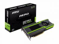 Видеокарта 11Gb MSI GeForce GTX 1080 Ti AERO, Алматы, 73 464 руб