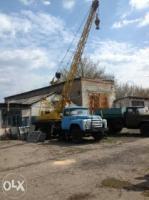 Продам обменяю автокран Зил Кс2561