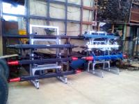 Ось SAF и BPW,  новые и усиленные для прицепа SKRB 9022; 14796617480