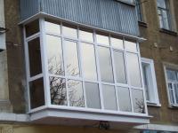 Окна балконы лоджии (вынос,  обшивка,  утепление) .  Французские балко