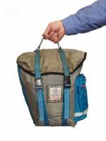 Вело сумка на багажник.  V = 16 л + 1 л карман.  Вело туризм.