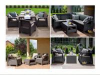 Садовая мебель.  Мебель искусственный ротанг.  Уличная мебель