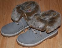 """Продам б\у женские подростковые зимние ботинки ТМ """"Rieker"""""""