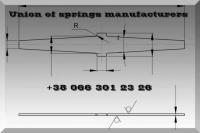 Плоские пружины концевых и диафрагменных уплотнений турбины АТ-25-2