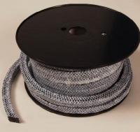 Квадратный  плетёный шнур в двери котла и печи.