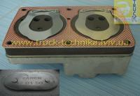 Радиатор печки теплообменник Rvi Kerax,  Midlum,  Premium 5001833355