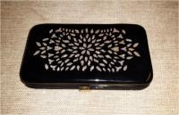 """Клатч черный новый """"H&M"""" размер 9х12см состав 100% polye"""
