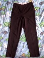 """Школьные брюки """"Oodji"""" , р. - 34 + подарок"""