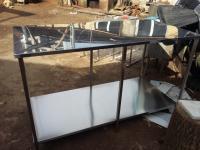 Стіл із нержавіючої сталі ,  стіл виробничий