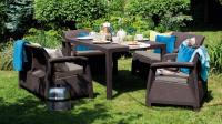 Набор садовой мебели Corfu Fiesta Set Allibert,  Keter