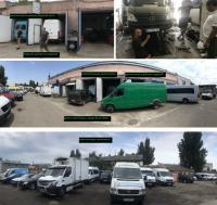 СТО в Одессе для микроавтобусов Мерседес, Фольксваген