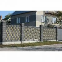 Блок декоративний для паркана від виробника наша хата