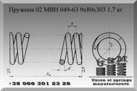 Пружины по МВН 049-63
