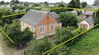 Продам дом в г. п.  Антополь,  от Бреста 77км.  от Минска 270 км.